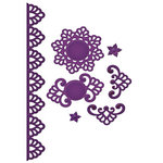 Spellbinders - Shapeabilities Collection - Die Cutting and Embossing Templates - Moroccan Accents
