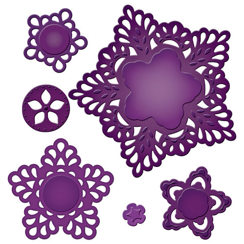 Spellbinders - Shapeabilities Collection - Die Cutting and Embossing Templates - Moroccan Motifs