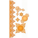 Spellbinders - Shapeabilities Collection - Die Cutting and Embossing Templates - Persian Accents