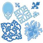 Spellbinders - Shapeabilities Collection - Die Cutting and Embossing Templates - Damask Motifs