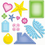 Spellbinders - Shapeabilities Collection - Die Cutting and Embossing Templates - Home Sweet Home