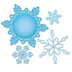 Spellbinders - Shapeabilities Collection - Christmas - Die Cutting and Embossing Templates - 2012 Snowflake Pendant