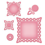 Spellbinders - Shapeabilities Collection - Die Cutting and Embossing Templates - Asian Motifs