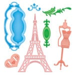 Spellbinders - Shapeabilities Collection - Samantha Walker - Die Cutting and Embossing Templates - French Frills