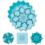 Spellbinders - Shapeabilities Collection - Die Cutting and Embossing Template - Double Delight
