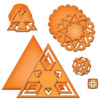Spellbinders - Shapeabilities Collection - Die Cutting and Embossing Template - Star Dreams