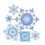 Spellbinders - Shapeabilities Collection - Die Cutting and Embossing Templates - 2013 Snowflake Pendant