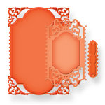 Spellbinders - Nestabilities Collection - Die Cutting and Embossing Templates - 5 x 7 Enchanted Labels Twenty-Eight