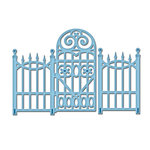 Spellbinders - Shapeabilities Collection - D-Lites Die - Garden Gate