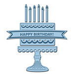Spellbinders - Shapeabilities Collection - D-Lites Die - Birthday Cake