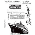 Stampers Anonymous - Tim Holtz - Cling Mounted Rubber Stamp Set - Artful Voyage