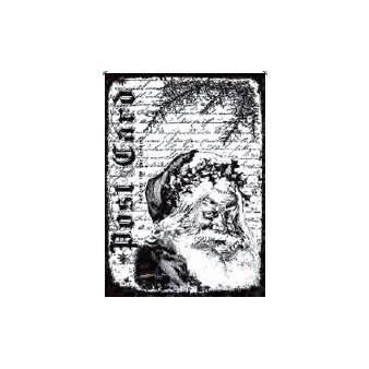 Stampers Anonymous - Tim Holtz - Christmas - ATC - Cling Mounted Rubber Stamps - Santa Letter