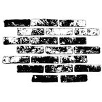 Stamper's Anonymous - Donna Salazar - Cling Mounted Rubber Stamp Set - Bricks
