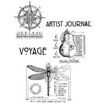 Stampers Anonymous - Tim Holtz - Cling Mounted Rubber Stamp Set - Classics 1