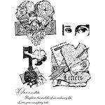 Stampers Anonymous - Cling Mounted Rubber Stamp Set - Classics 8