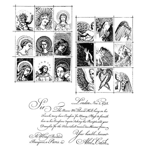 Stampers Anonymous - Cling Mounted Rubber Stamp Set - Classics 9