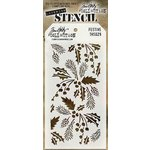 Stampers Anonymous - Tim Holtz - Layering Stencil - Christmas - Festive