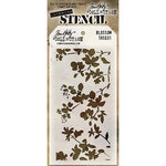 Stampers Anonymous - Tim Holtz - Layering Stencil - Blossom