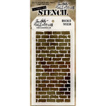 Stampers Anonymous - Tim Holtz - Layering Stencil - Bricked
