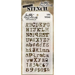 Stampers Anonymous - Tim Holtz - Layering Stencil - Typo