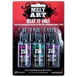Ranger Ink - Melt Art - Heat It Inks - Luxurious Gems