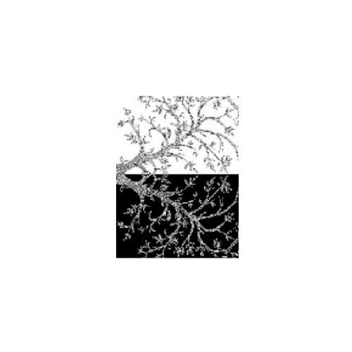 Ranger Ink - Melt Art - Texture Treads - Leafy Branches