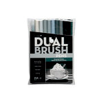Tombow - Dual Brush Pen - 10 Color Set - Gray Scale