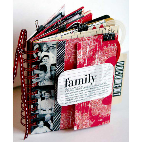 Teresa Collins - Family Matters Collection - Envelope Book Kit
