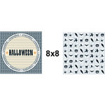 Teresa Collins - Spooktacular Halloween Collection - 8 x 8 Double Sided Paper - Remember, CLEARANCE