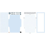 Teresa Collins - Die-Cut Cards - 25 Pack - Baby Boy, CLEARANCE