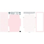 Teresa Collins - Die-Cut Cards - 25 Pack - Baby Girl, CLEARANCE
