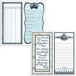 Teresa Collins - Friendship Collection - 12 x 12 Double Sided Paper - Friendship Notes, CLEARANCE