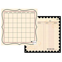 Teresa Collins - Journal-It Collection - 12x12 Double Sided Paper - Ledger Time