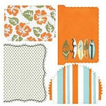 Teresa Collins - Boardwalk Collection - Die-Cuts - Boardwalk
