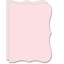 Teresa Collins - Bind It All - 2 Bracket Shape Covers - Pink