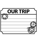 Teresa Collins - Cling Mounted Rubber Stamps - Our Trip, CLEARANCE