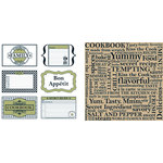 Teresa Collins - Bon Appetit Collection - 12 x 12 Double Sided Paper - Favorite Family Recipes