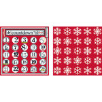 Teresa Collins - Tis the Season Christmas Collection - 12 x 12 Double Sided Paper - Countdown to Christmas