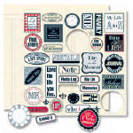 Teresa Collins - Documented Collection - Die Cut Charms