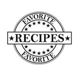 Teresa Collins - Cling Mounted Rubber Stamp - Favorite Recipes