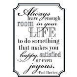 Teresa Collins - Cling Mounted Rubber Stamp - Family Quote