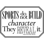 Teresa Collins - Sports Edition Collection - Cling Mounted Rubber Stamp - Character