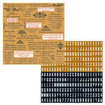 Teresa Collins - Family Matters Collection -  12 x 12 Double Sided Paper - Families Are Forever, CLEARANCE