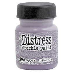 Ranger Ink - Tim Holtz - Distress Crackle Paint - Milled Lavender
