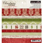 Teresa Collins - Christmas Cottage Collection - 6 x 6 Paper Pad