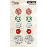 Teresa Collins - Christmas Cottage Collection - Buttons