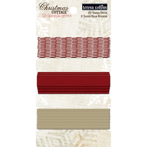 Teresa Collins - Christmas Cottage Collection - Trim