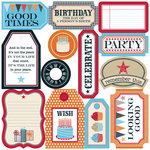 Teresa Collins - Celebrate Collection - Die Cut Tags