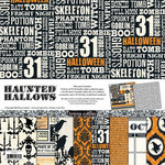 Teresa Collins - Haunted Hallows Collection - Halloween - 12 x 12 Paper and Accessories Pack