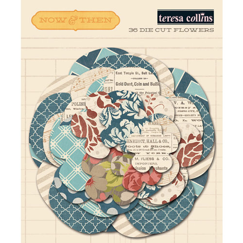 Teresa Collins - Now And Then Collection - Paper Flowers
